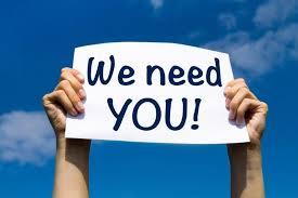 We need you -vacancies