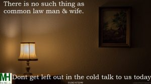 Common law man & wife