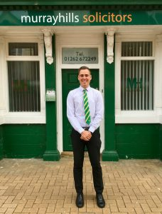 Adam Biglin at the Bridlington office