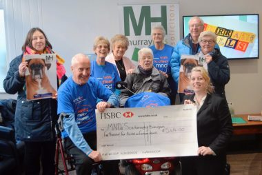Charity cheque
